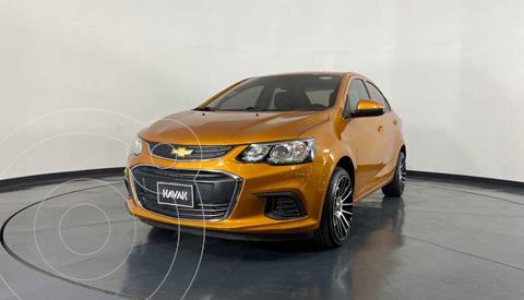 Chevrolet Sonic LT HB Aut usado (2017) color Naranja precio $174,999