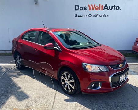 Chevrolet Sonic LTZ Aut usado (2017) color Rojo Tinto precio $204,900