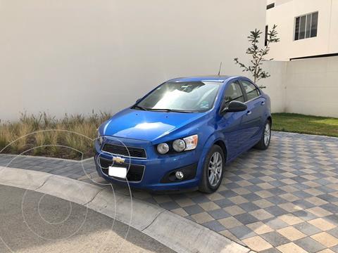 Chevrolet Sonic LTZ Aut usado (2012) color Azul Electrico precio $89,000