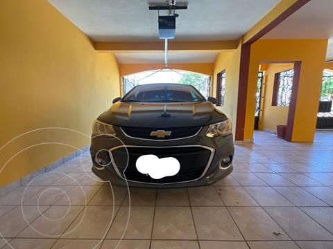 Chevrolet Sonic Premier Aut usado (2017) color Gris precio $185,000