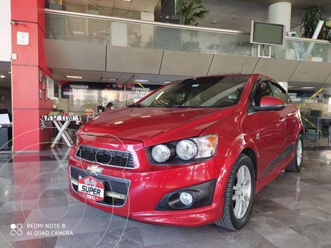 Chevrolet Sonic LTZ Aut usado (2014) color Rojo Cobrizo precio $140,000