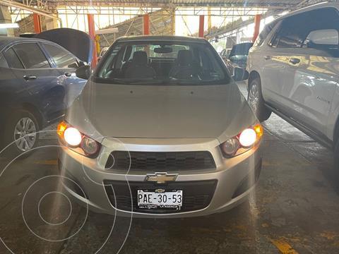 Chevrolet Sonic LS usado (2015) color Plata Dorado precio $122,000
