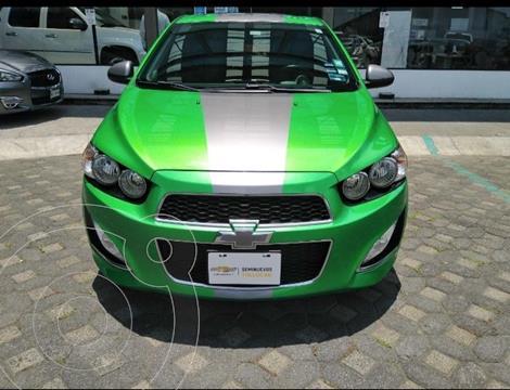 Chevrolet Sonic LT HB usado (2016) color Verde precio $240,000