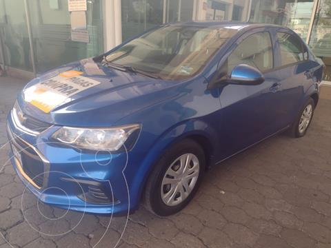 Chevrolet Sonic LS usado (2017) color Azul Acero precio $159,900