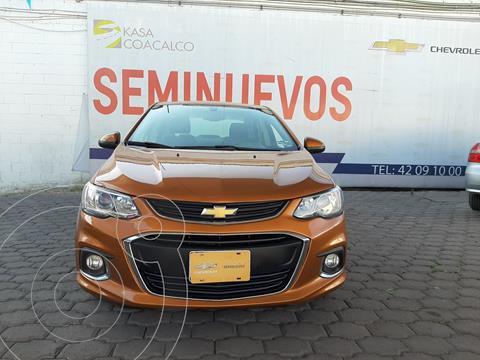 Chevrolet Sonic LTZ Aut usado (2017) color Ocre precio $188,000
