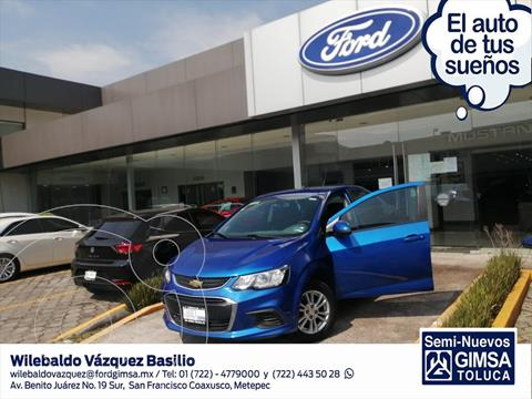 foto Chevrolet Sonic LT Aut usado (2017) color Azul Claro precio $148,000