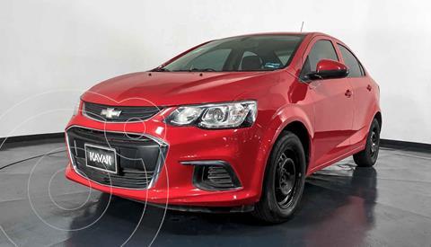Chevrolet Sonic LS usado (2017) color Rojo precio $154,999