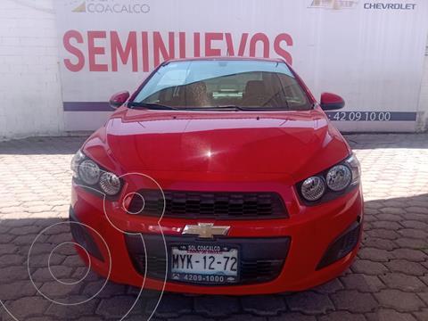 Chevrolet Sonic LT usado (2016) color Rojo precio $155,000