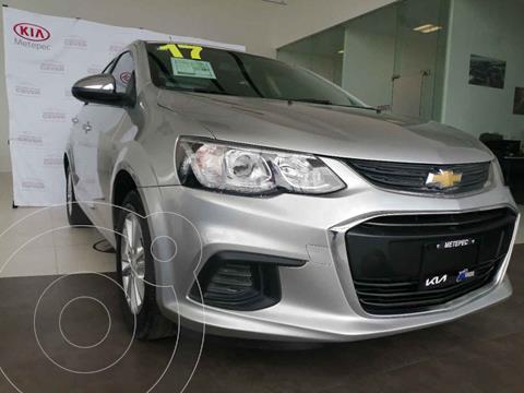 Chevrolet Sonic LT usado (2017) color Plata precio $155,000