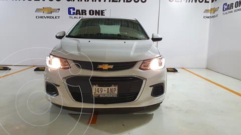 Chevrolet Sonic LS usado (2017) color Blanco financiado en mensualidades(enganche $31,000 mensualidades desde $4,134)