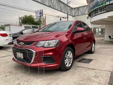 Chevrolet Sonic LT usado (2017) color Rojo precio $155,000