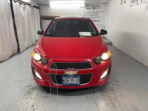 Chevrolet Sonic LT HB usado (2015) color Rojo precio $189,000
