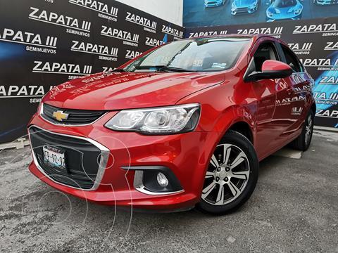 Chevrolet Sonic Paq F usado (2017) color Rojo Granada precio $180,000