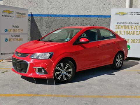 Chevrolet Sonic Premier Aut usado (2017) color Rojo precio $198,000