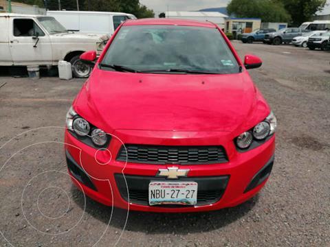 Chevrolet Sonic LS usado (2016) color Rojo precio $155,000