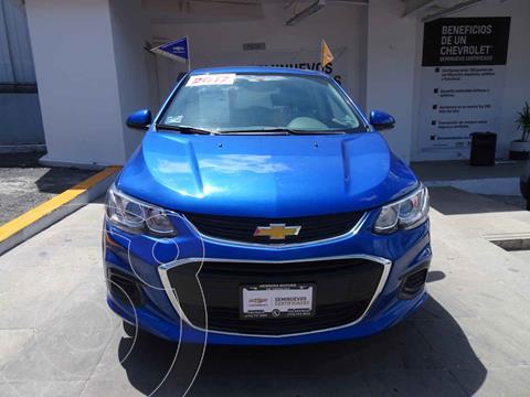 Chevrolet Sonic LT HB usado (2017) color Azul precio $190,000