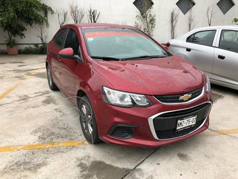 Chevrolet Sonic LT usado (2017) color Rojo precio $152,800