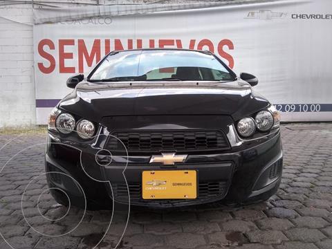 Chevrolet Sonic LT Aut usado (2015) color Negro precio $155,000