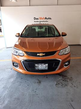 Chevrolet Sonic LS PAQ A 1.6L 115HP CA VT CD MT usado (2017) color Ocre precio $185,000