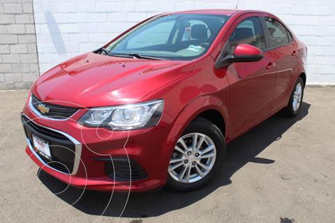 Chevrolet Sonic LT HB Aut usado (2017) color Rojo precio $175,000
