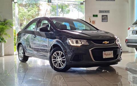 Chevrolet Sonic LT Aut usado (2017) color Gris Oscuro precio $165,000