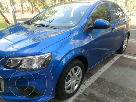Chevrolet Sonic LS usado (2017) color Azul precio $155,000
