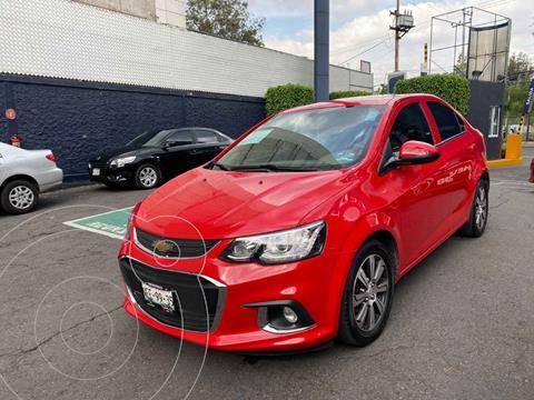 Chevrolet Sonic Premier Aut usado (2017) color Rojo precio $189,900