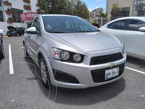 Chevrolet Sonic LS usado (2016) color Plata precio $153,000