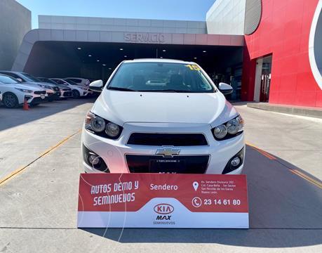 Chevrolet Sonic LTZ Aut usado (2015) color Blanco precio $150,000
