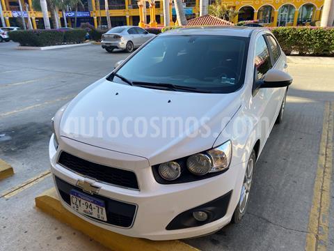 Chevrolet Sonic LTZ Aut usado (2016) color Blanco precio $170,000