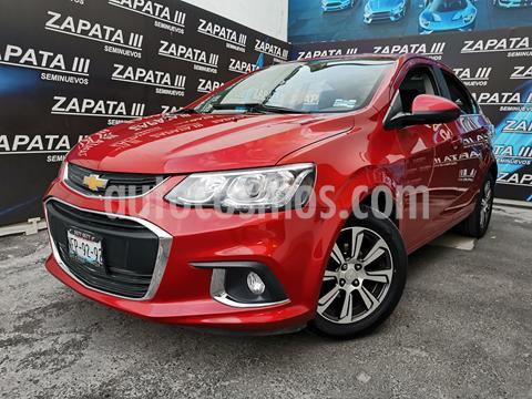 foto Chevrolet Sonic Paq F usado (2017) color Rojo Granada precio $180,000