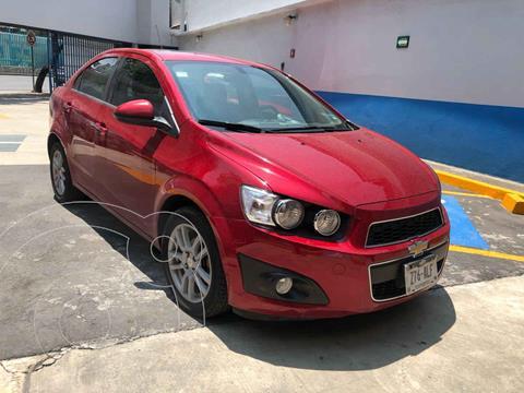Chevrolet Sonic LTZ Aut usado (2016) color Rojo precio $170,000