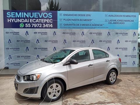 Chevrolet Sonic LS usado (2015) color Plata Dorado precio $121,485