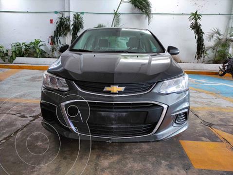 Chevrolet Sonic LS usado (2017) color Gris precio $185,000