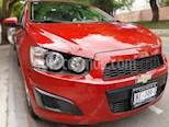 Chevrolet Sonic LT usado (2016) color Rojo Tinto precio $130,000