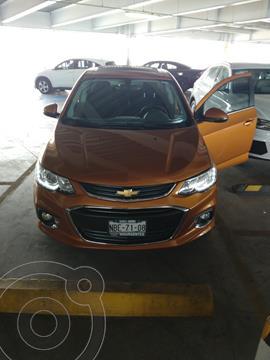 Chevrolet Sonic Premier Aut usado (2017) color Naranja precio $200,000