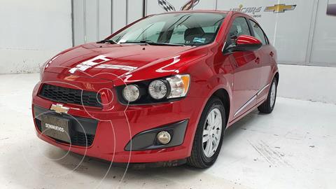 Chevrolet Sonic LT Aut usado (2015) color Rojo precio $150,000
