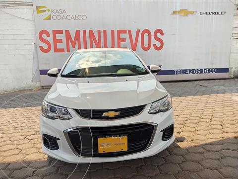 Chevrolet Sonic LS usado (2017) color Blanco precio $200,000