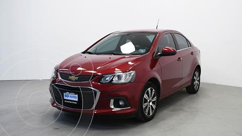 Chevrolet Sonic LTZ Aut usado (2017) color Rojo precio $182,000