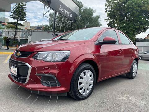 foto Chevrolet Sonic LS usado (2017) color Rojo precio $150,000