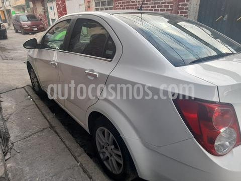 Chevrolet Sonic LTZ Aut usado (2014) color Blanco Galaxia precio $112,000