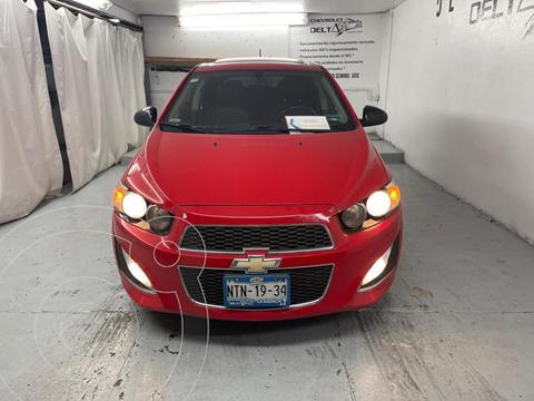 Chevrolet Sonic LT HB usado (2015) color Rojo precio $180,000