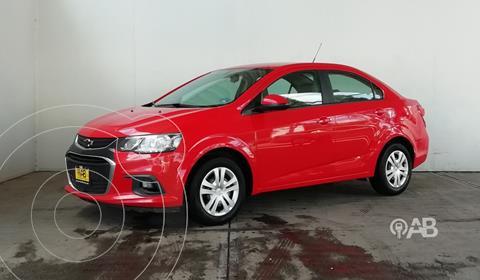 Chevrolet Sonic LS usado (2017) color Rojo precio $187,000