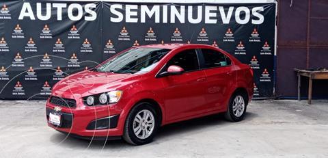 Chevrolet Sonic LT usado (2015) color Rojo precio $129,000