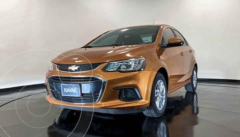 Chevrolet Sonic LT HB Aut usado (2017) color Naranja precio $169,999