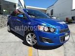 Foto venta Auto usado Chevrolet Sonic Paq B color Azul precio $107,000