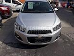 Foto venta Auto Seminuevo Chevrolet Sonic Paq F (2016) color Plata Artico precio $152,000