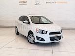 Foto venta Auto usado Chevrolet Sonic Paq F (2012) color Blanco Galaxia precio $119,000