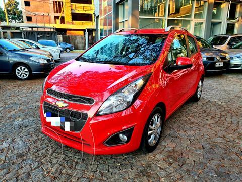 Chevrolet Spark LT usado (2017) color Rojo precio $1.170.000