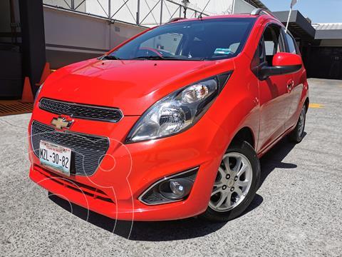 Chevrolet Spark LTZ usado (2016) color Rojo Flama precio $130,000
